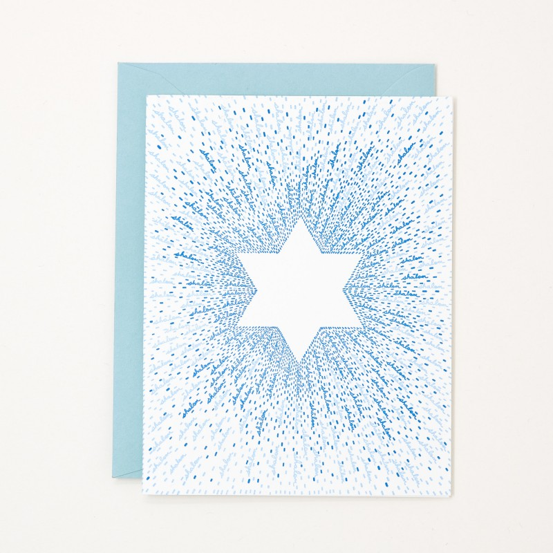 Thumbnail for Shalom Star of David Hanukkah